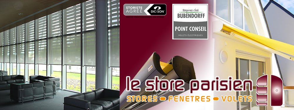 le store parisien votre storiste sur paris et l 39 ile de. Black Bedroom Furniture Sets. Home Design Ideas