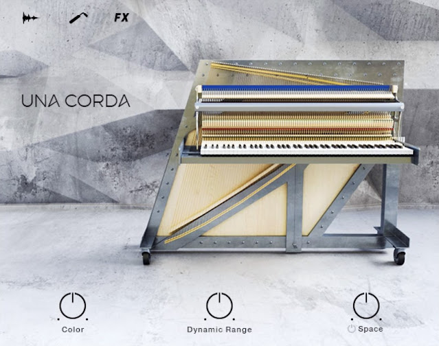 Interface Native Instruments - Una Corda (KONTAKT)