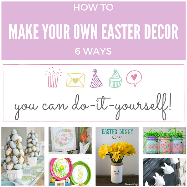 6 Cute DIY Easter Decor Ideas