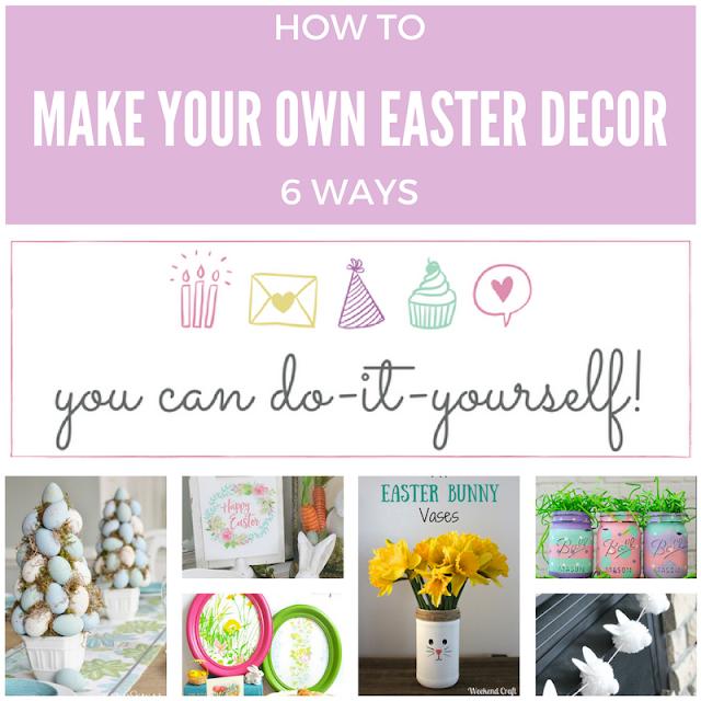 6 Cute DIY Easter Decor Ideas