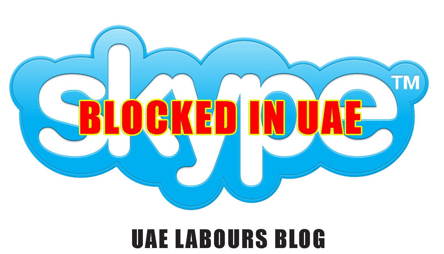 Skype blocked in Dubai