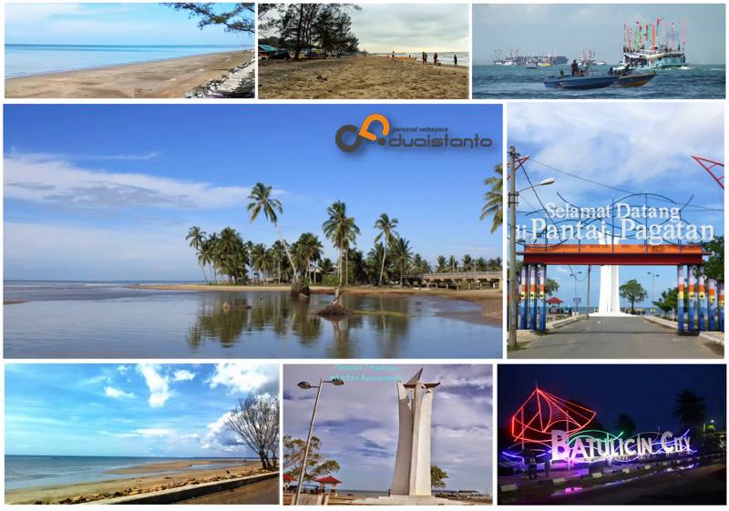 Pantai Pagatan Kalsel Dan Sejarahnya Duaistanto Journey