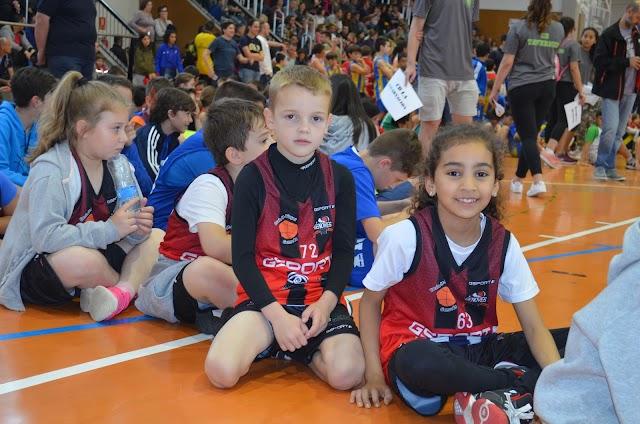 El club participa un any més en la Festa Final de la Lliga de Minibàsquet