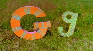 The letters G appear along with the song G is Great. Sesame Street Alphabet Songs