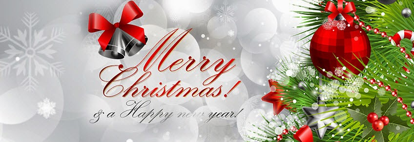 Merry Christmas And Happy New Year Whatsapp Wallpaper