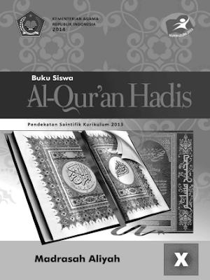 Buku Siswa Al-Qur'an Hadist Kelas X