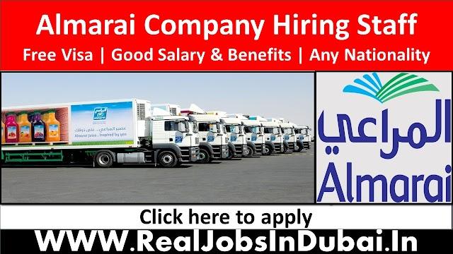 Almarai Hiring Staff In Saudi Arabia & UAE - 2021