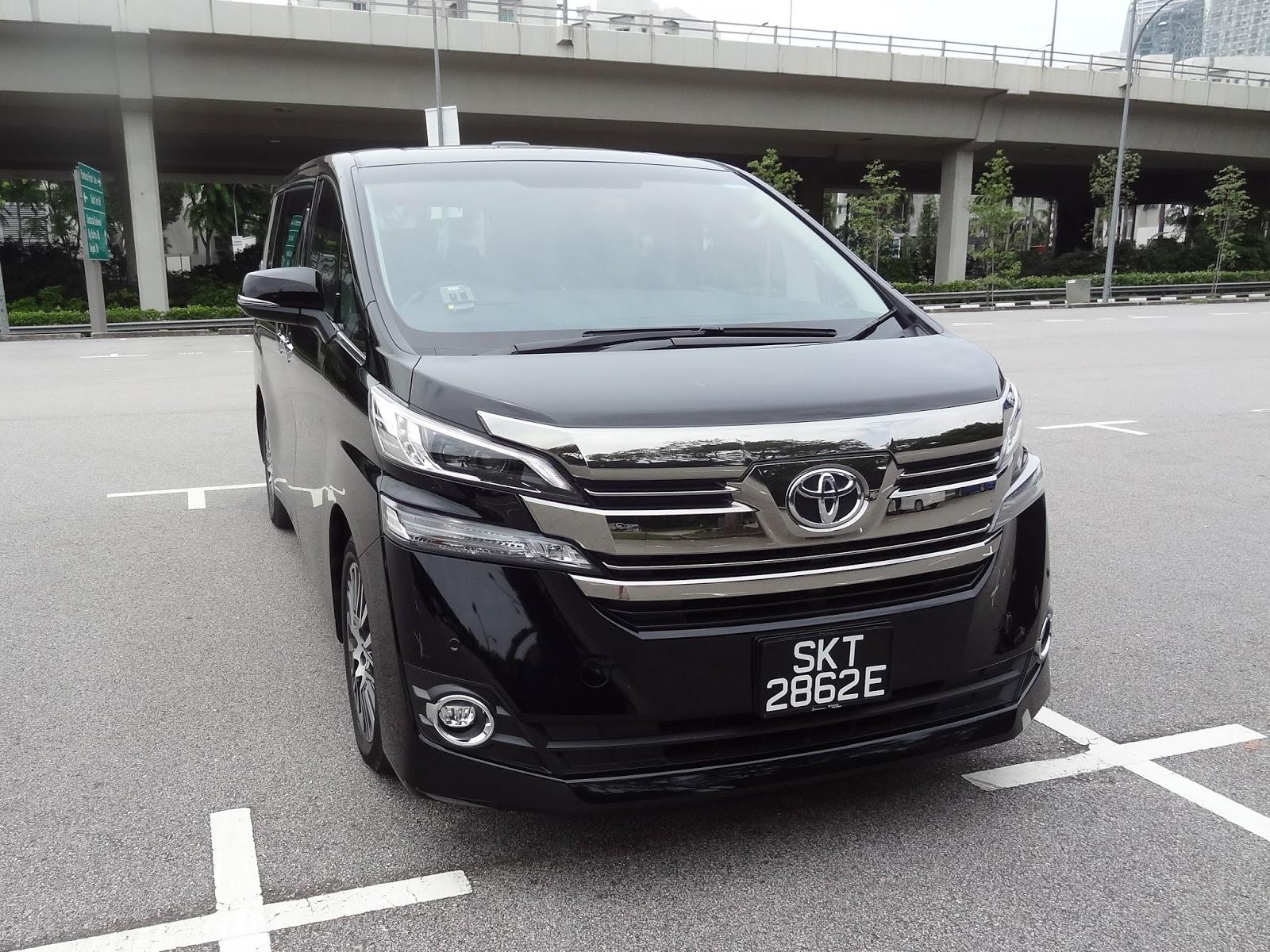 Shaun Owyeong: Toyota Vellfire 2.5 Elegance [Car Review]