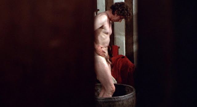 Tom Baker nude in Pasolini's CANTERBURY TALES(1972)