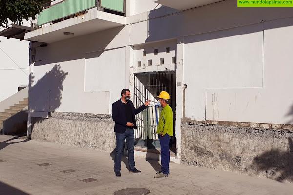 El Ayuntamiento de Los Llanos de Aridane pone en marcha las obras de reforma de la Casa de los Maestros