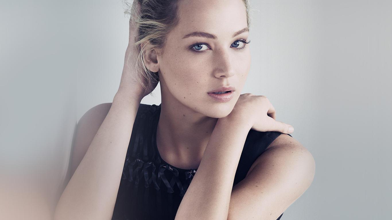 Jennifer Lawrence Awesome Look HD Wallpaper