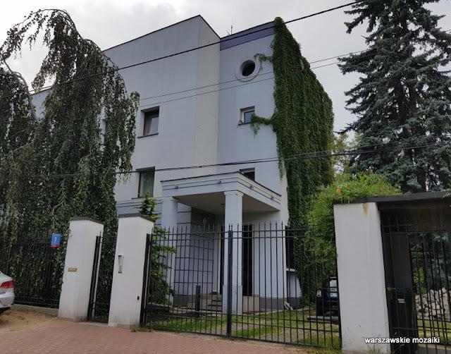 Warszawa Warsaw Młociny Bielany miasto ogród architektura ulice Bielan willa architektura