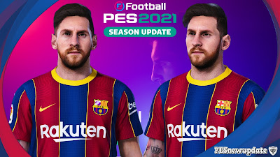 PES 2021 Faces Lionel Messi by Sameh Momen