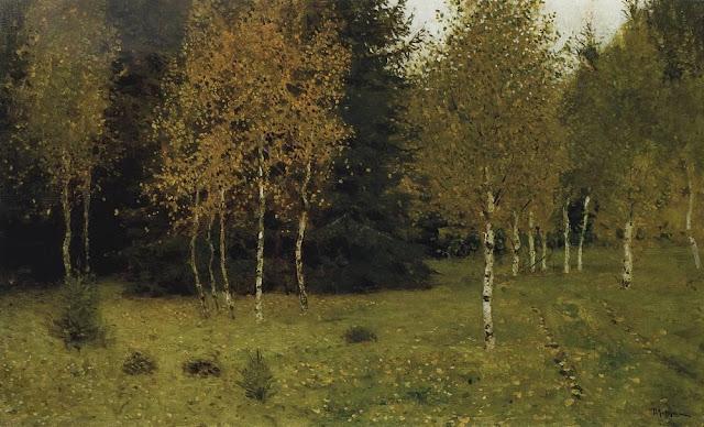 Исаак Ильич Левитан - Осень. 1889