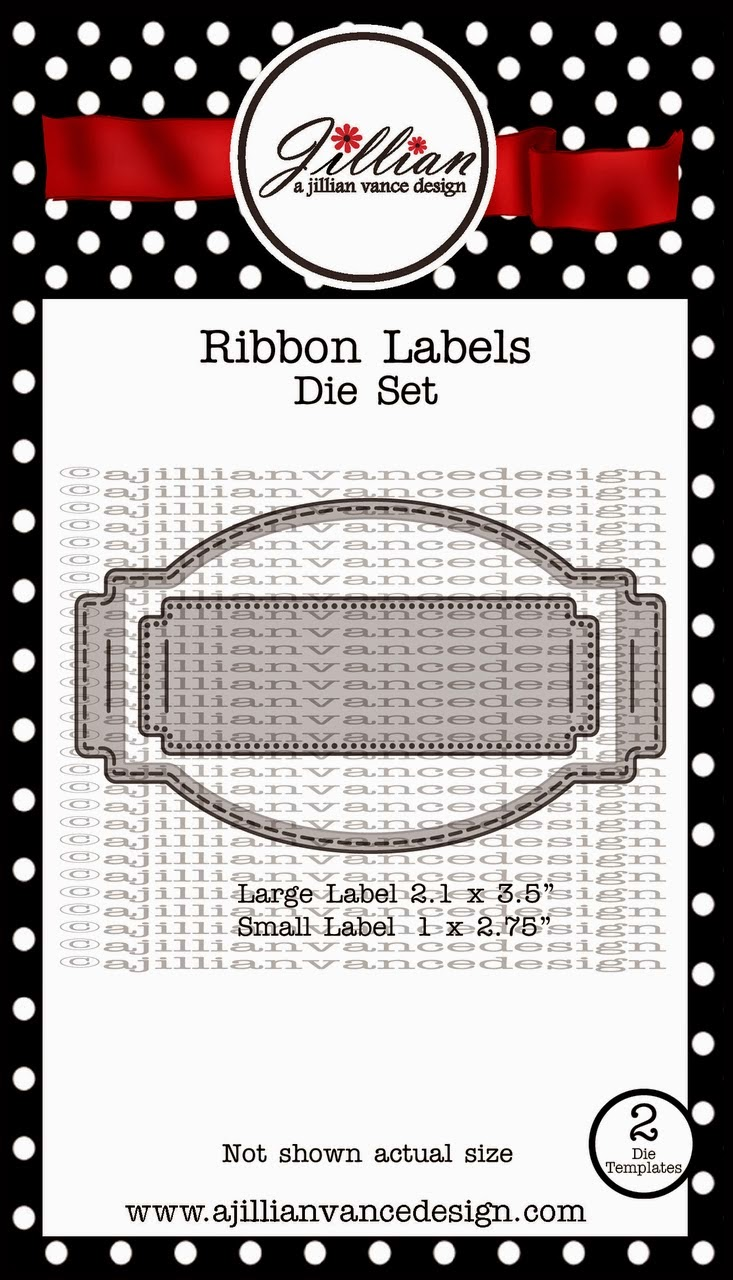 Ribbon Labels Dies