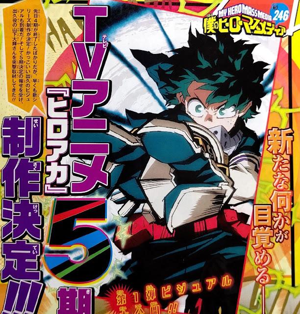 Filtración de la décimo novena edición de este año de la revista Weekly Shonen Jump