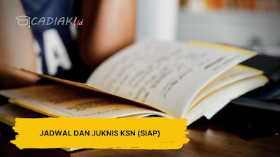 Jadwal dan Juknis KSN (OSN) Daring Jenjang SD SMP SMA Tahun 2020