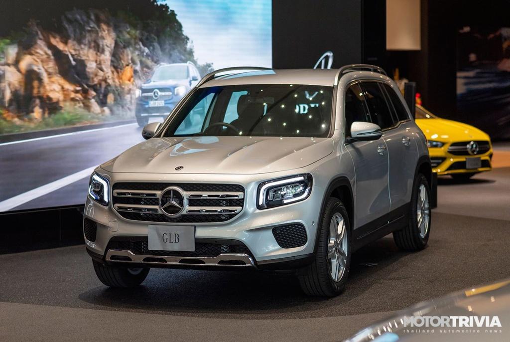 Chi tiết Mercedes-Benz GLB vừa ra mắt tại Thái Lan, cận kề ngày về VN
