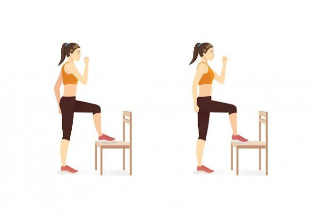 Chair Exercises For Abs: 8 Minute Tiny Waist & Flat Tummy Workout.