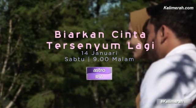 Telemovie Biarkan Cinta Tersenyum Lagi lakonan Aeril , Wawa dan Sari Yanti