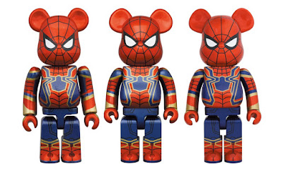Avengers: Endgame Iron Spider-Man Be@rbrick Vinyl Figures by Medicom Toy