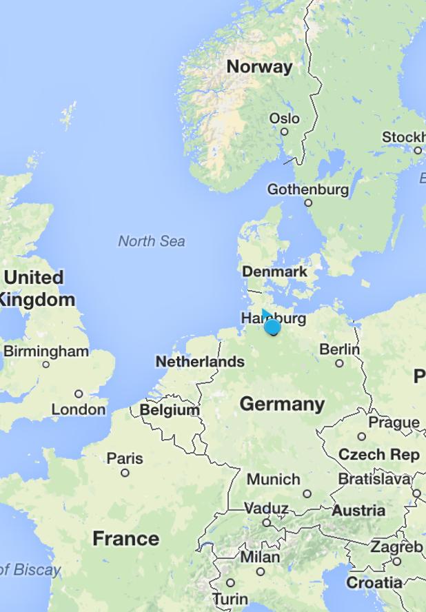map-around-germany