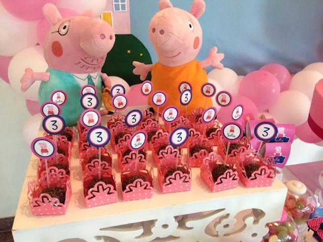 Decoração Tema Peppa Pig