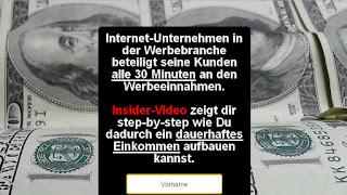 revshareprogramm gpa einsammelseite von emailadressen