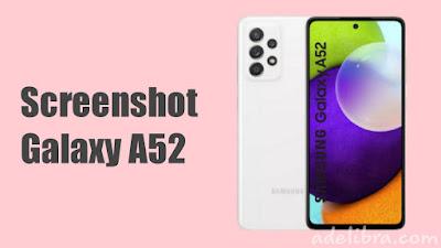 Screenshot Samsung Galaxy A52