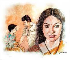 Kiran lost all her sulkiness and welcomed the boy in with dry clothes and a bowl of hot milk.