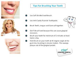 brushing teeth care rules