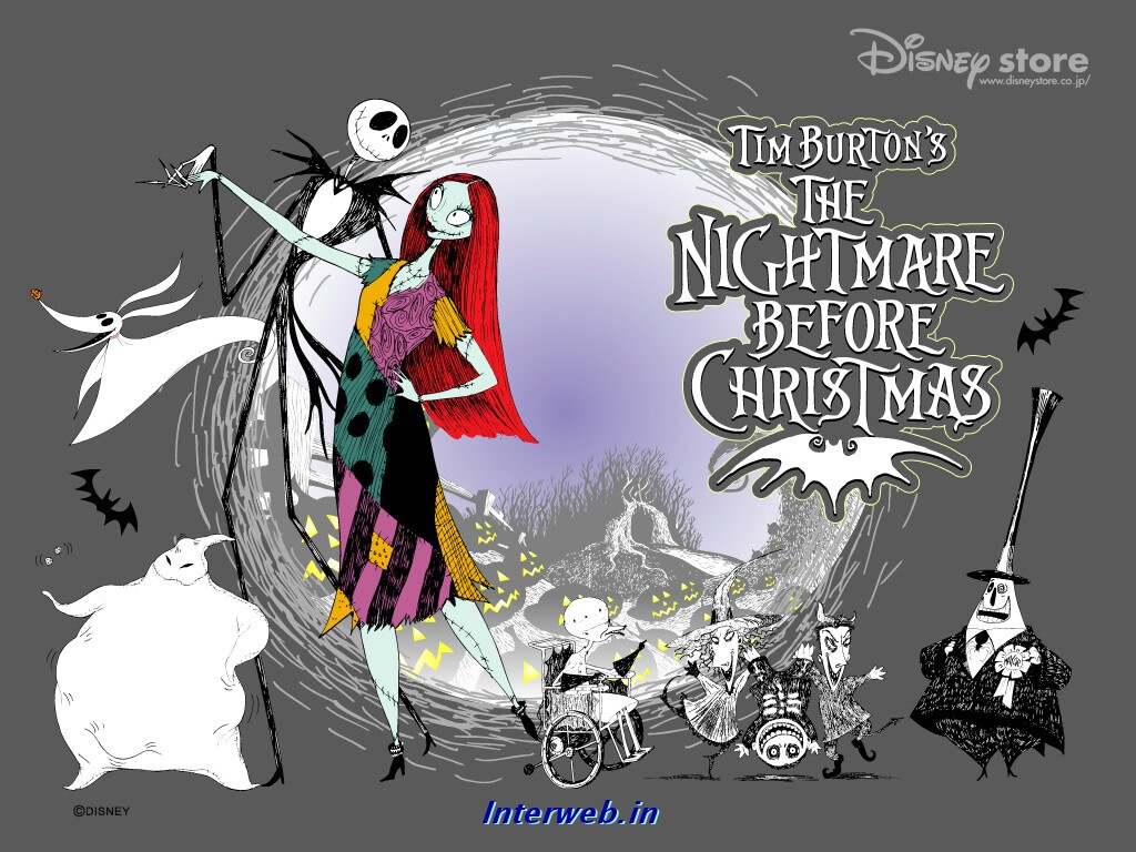 Nightmare Before Christmas Live Wallpaper Decorating Ideas