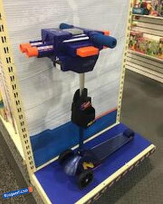 Xe chòi chân Nerf Blaster Scooter 1