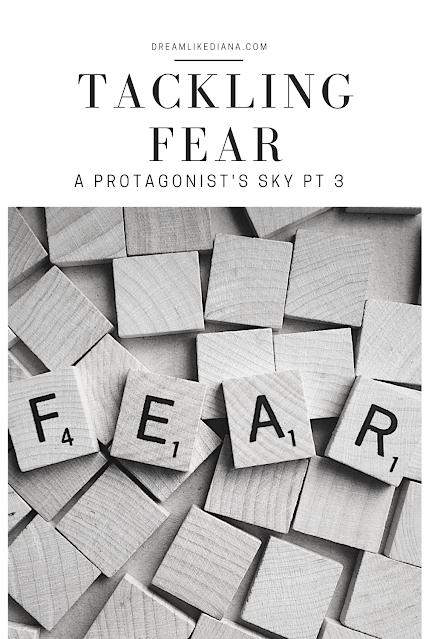 tackling fear pinterest pin
