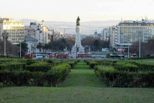 Lisbon for Christmas: Parque Eduardo VII