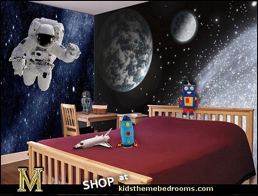 astronaut wall decal space bedroo decor space astronomy wall murals Earth Galaxy Wall Mural  Astronaut Space Man Wall Decals  Astronaut costumes