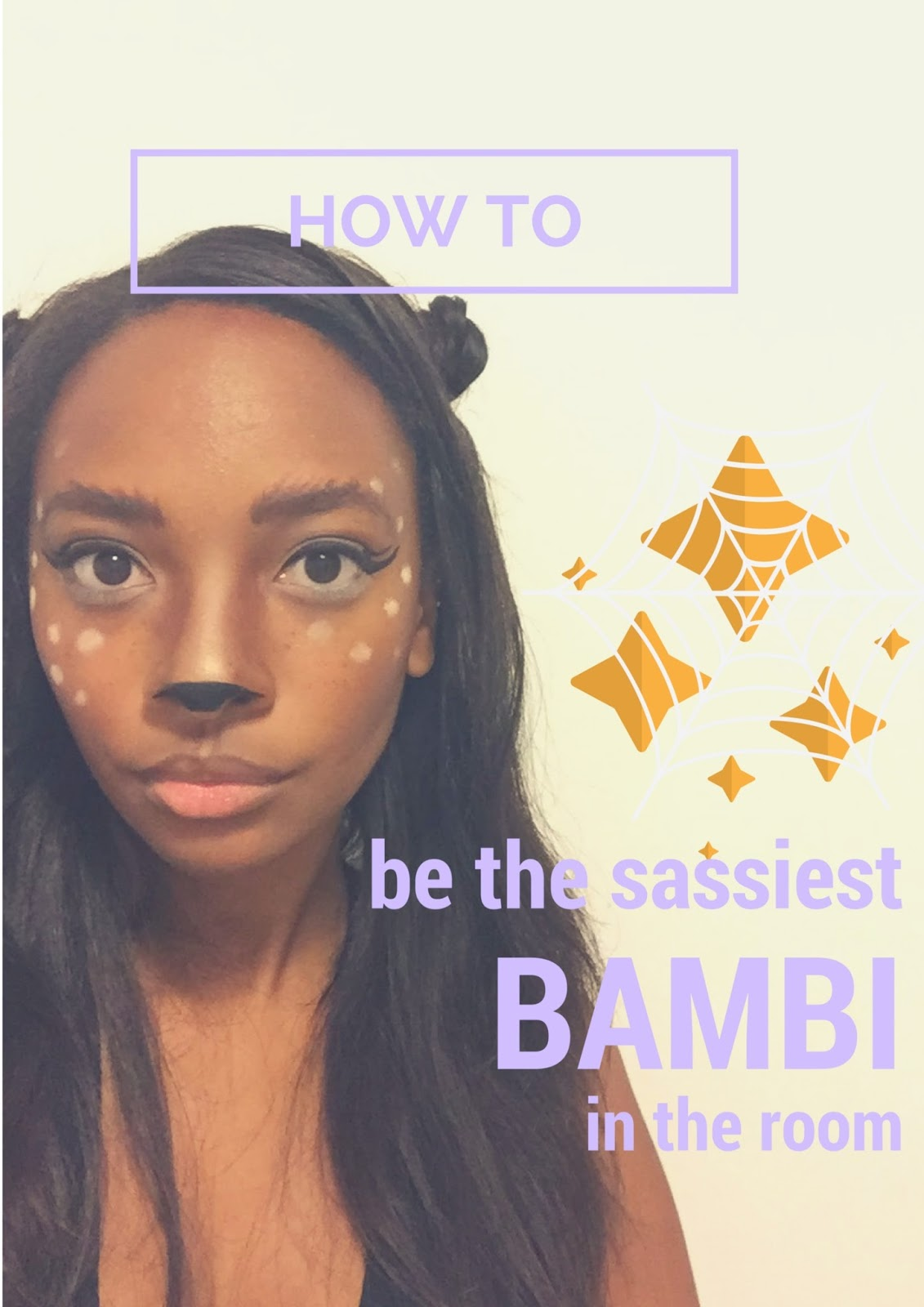 HOW TO BE CUTER THAN BAMBI: Make-Up Tutorial