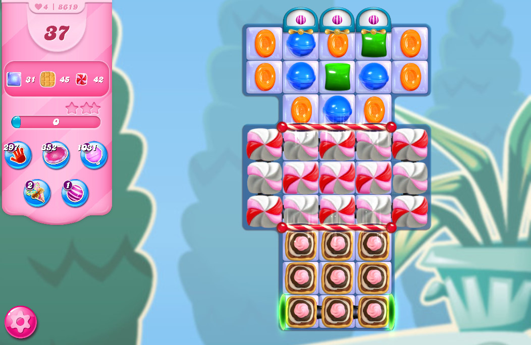 Candy Crush Saga level 8619