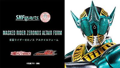 S.H. Figuarts (Shinkocchou Seihou) Kamen Rider Zeronos Altair Form