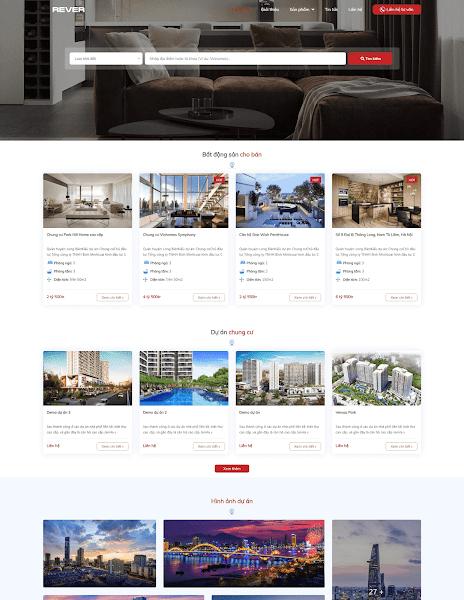 Theme blogger bất động sản đẹp nhất