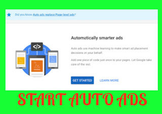 How to start auto ads on blog and website