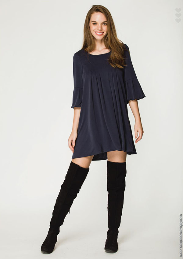 Vestidos otoño invierno 2018 by Asterisco ropa de mujer.| Moda otoño invierno 2018.