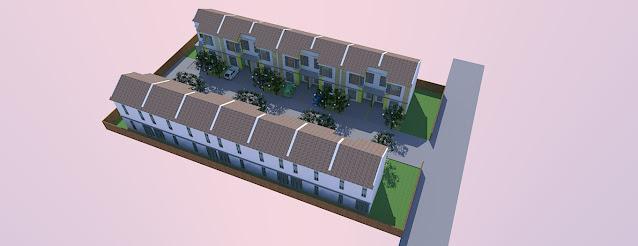 perumahan site plan