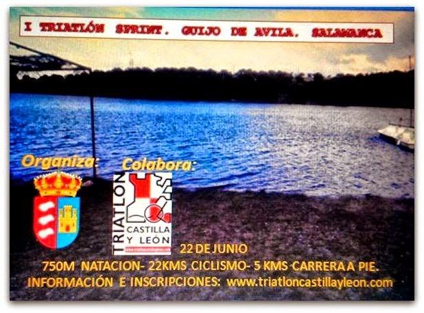 22/Junio.I Triatlón Sprint. Guijo de Ávila