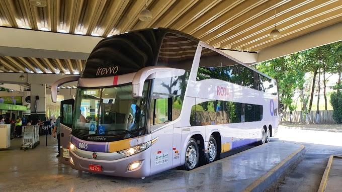 A nossa primeira viagem na Salvador x Juazeiro com a ROTA Transportes