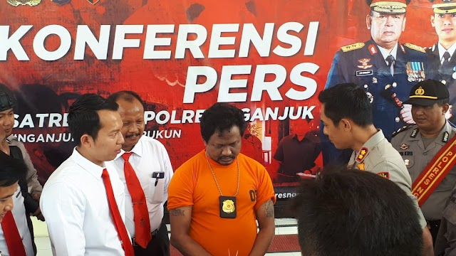 Polisi Gadungan Dibekuk Tim Macan Wilis Polres Nganjuk