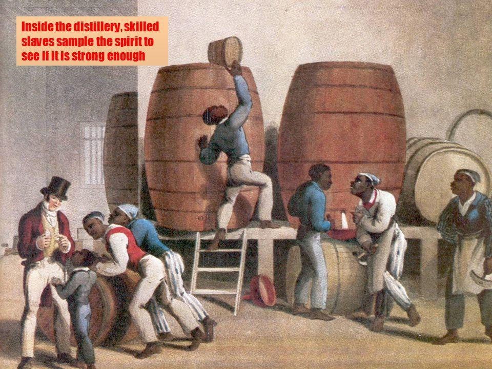 Those Pre-Pro Whiskey Men!: Whiskey Men with Slaves