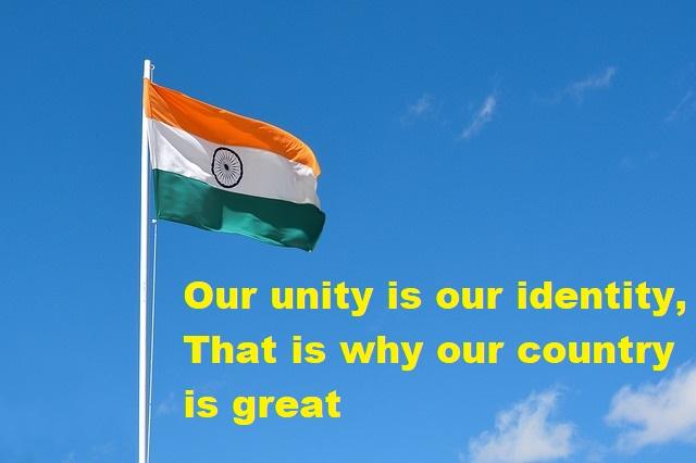 National Unity Day Slogan