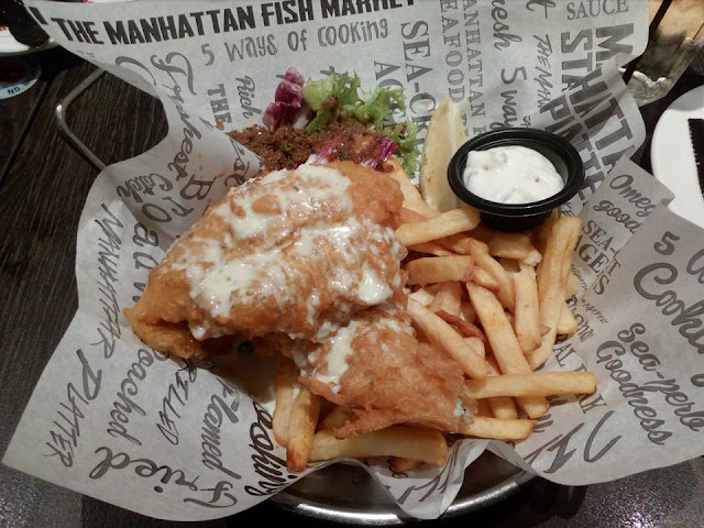 The Manhattan Fish Market di Nu Sentral