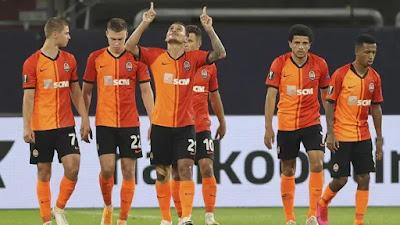 الدوري الأوروبي ، إنتر شاختار دونيتسك في الدور قبل النهائي